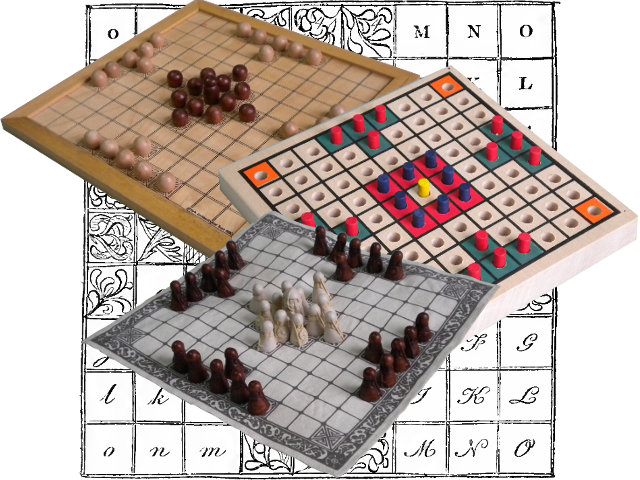 These games cover four different styles of hnefatafl rule set.
