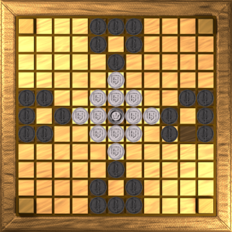 Hnefatafl for Android, by Philippe Schober