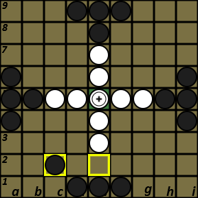 A tablut game at Play Tafl Online