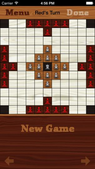 King's Table Online on the iPhone