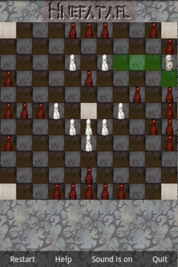 Hnefatafl by DKIT, running on Android