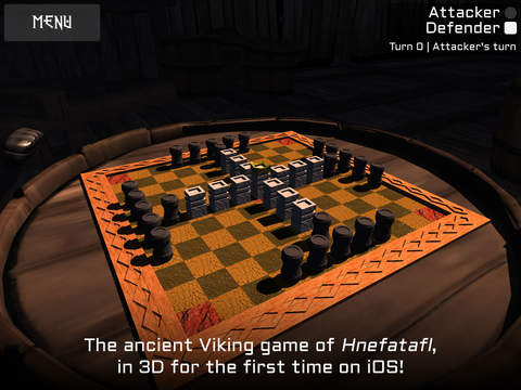 Viking Chess mobile app.