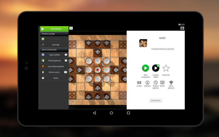 Jocly's Tafl for Android