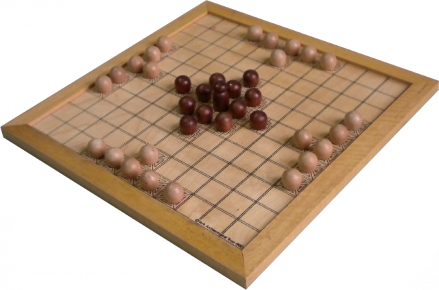 Hnefatafl from the York Archaeological Trust
