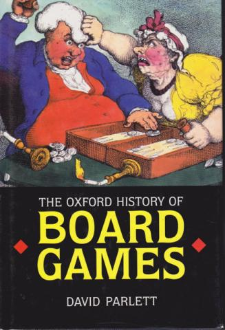 The Oxford History of Board Games cover