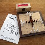 Compact 25-piece Hnefatafl Game